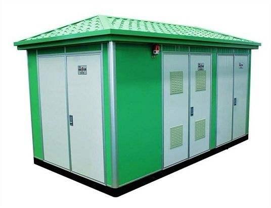 环保型非金属-7.2~40.5KV预装式变电站箱体